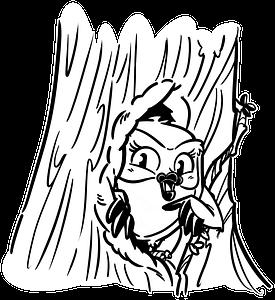 Evi -Baumhöhle - verkleinert