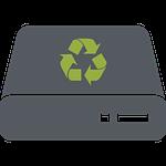 Datenvernichtung Symbol transparent